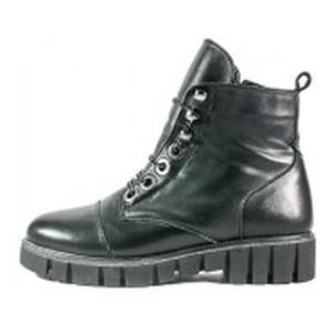 Ботинки зимние женские Lonza L-21854-2164 LS черная кожа