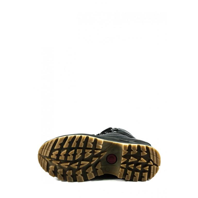 Ботинки зимние мужские Nivas СФ Niv A34 чт черные