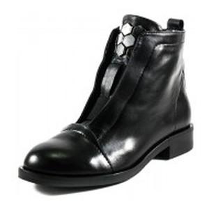 Ботинки демисезон женские Lonza L-21879-2136L черная кожа