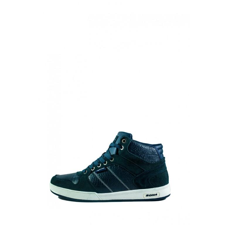 Кроссовки мужские Bona 166-6B темно-синие