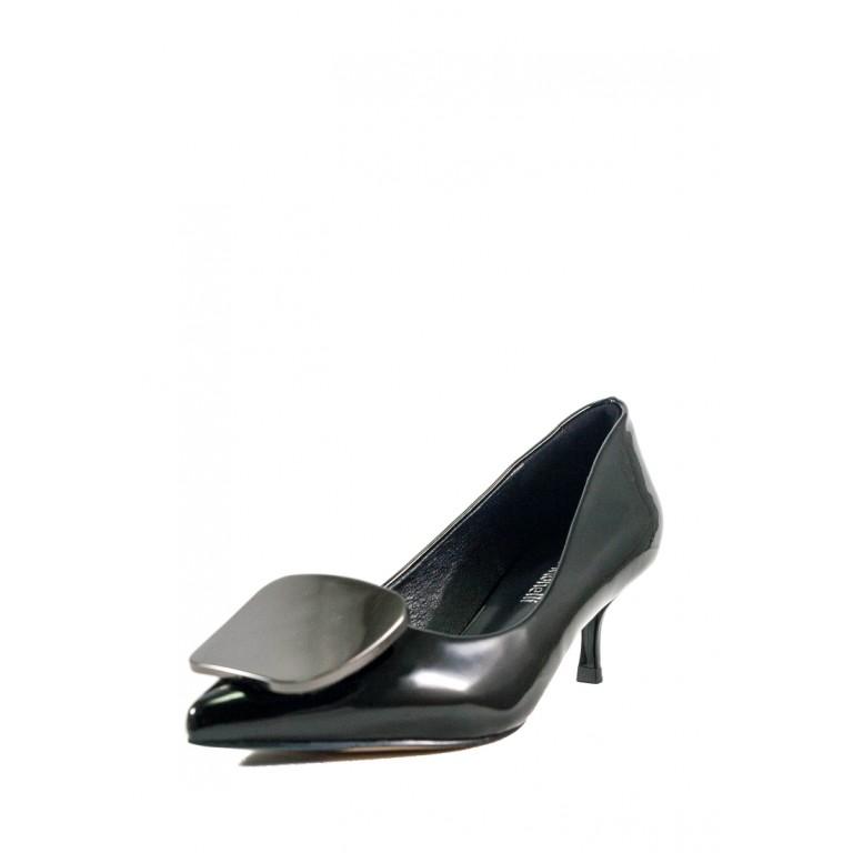 Туфли женские Fabio Monelli D563-1Q черный лак