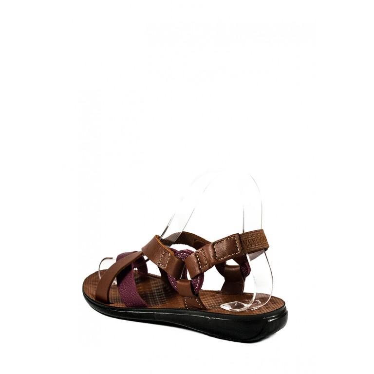 Босоножки женские TiBet 75 светло-коричневые