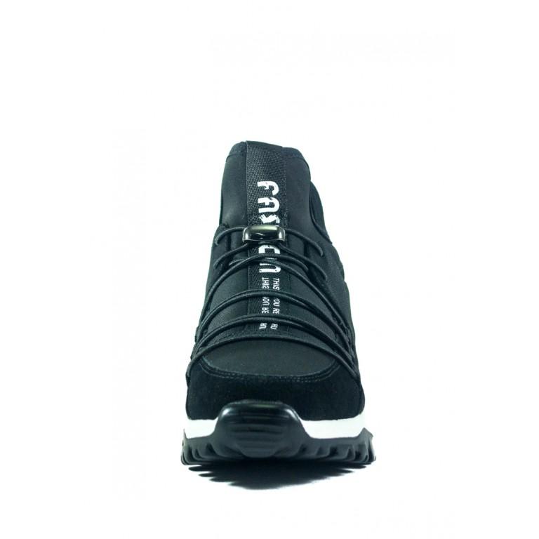 Кроссовки женские Allshoes 102-56585 черные