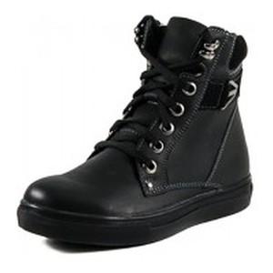 Ботинки зимние женские MIDA 24603-3Ш черные