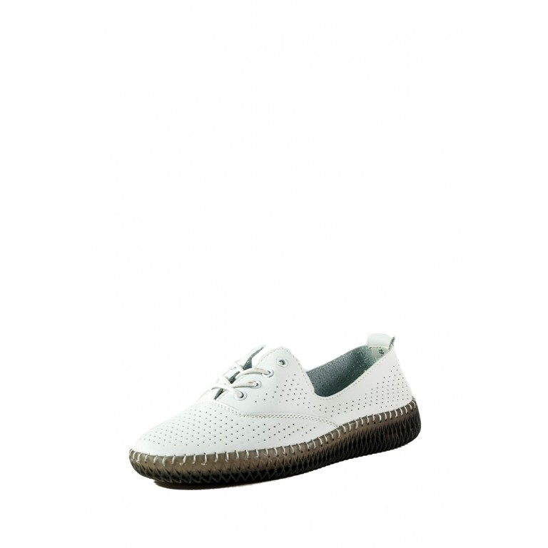 Кеды женские Allshoes 19111-1K белые