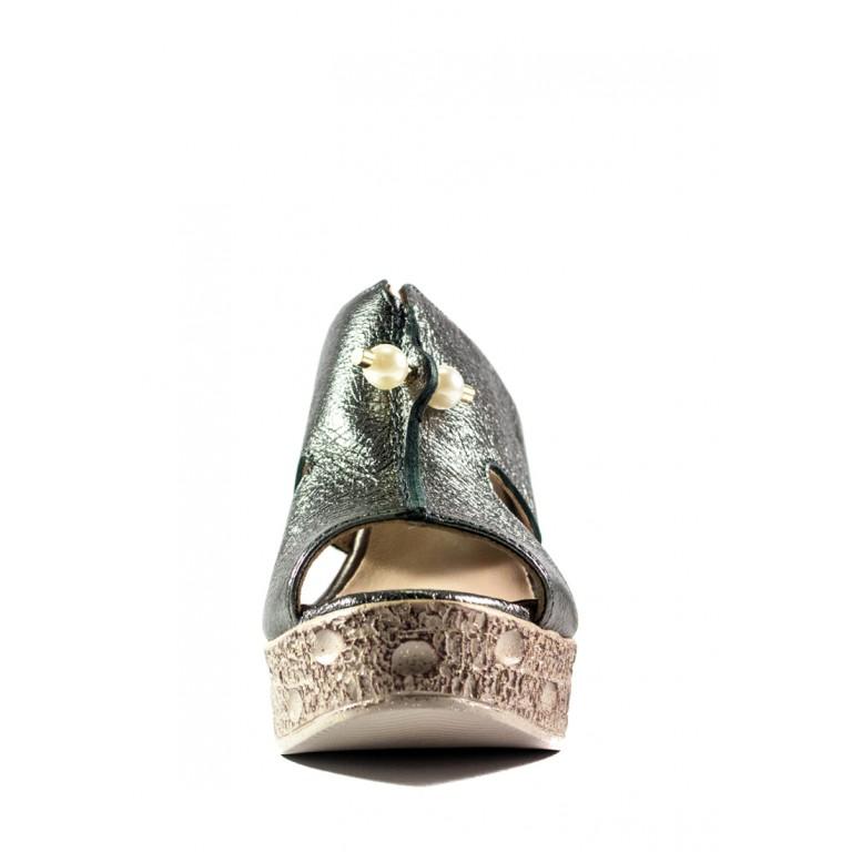 Сабо женские Anna Lucci СФ 74-30 серебряные