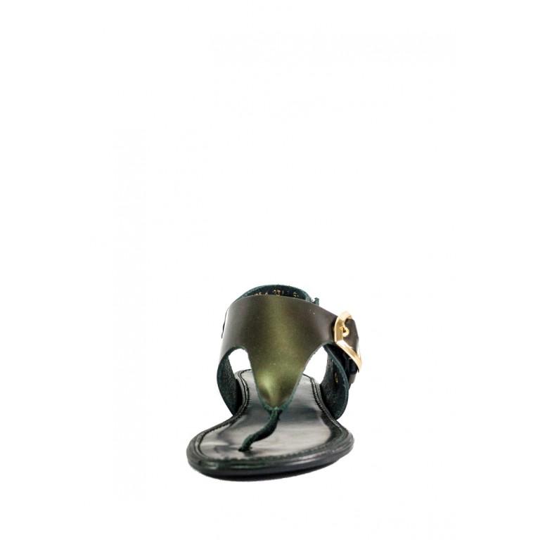 Босоножки женские MIDA 23764-539 коричневые