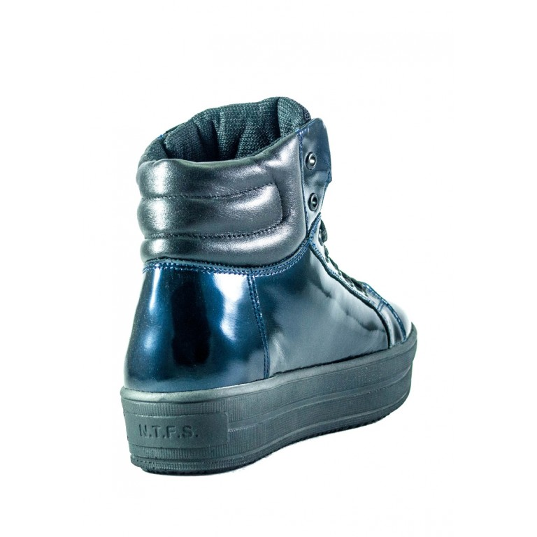 Ботинки зимние женские MIDA 24654-234Ш синие