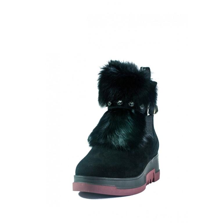 Ботинки зимние женские Allshoes СФ 605-A30M-65-1 черные