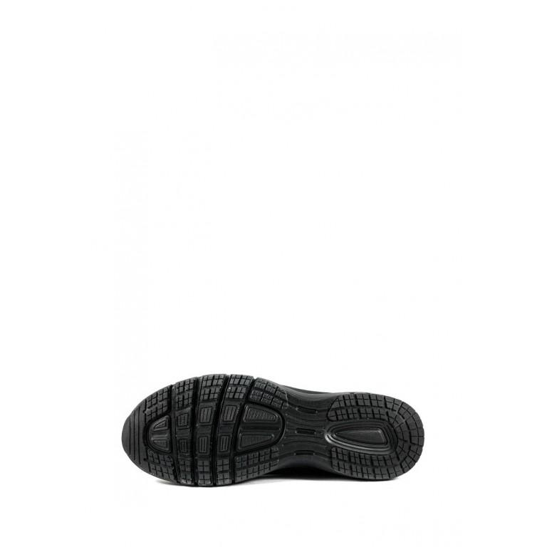 Кроссовки летние мужские Restime PML20820 черно-зеленые