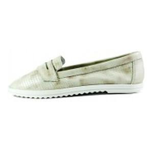 Туфли женские MIDA 23681-163 светло-бежевые