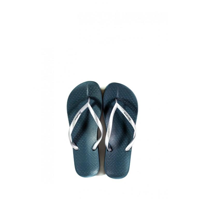 Вьетнамки женские Ipanema 81030-24501 сине-серебряные