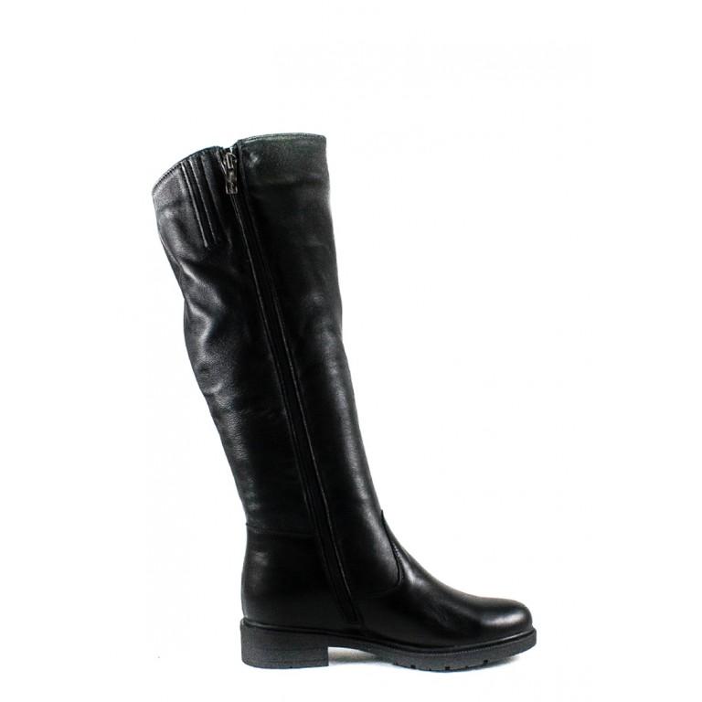 Сапоги зимние женские SND SDAZ 1033 черные