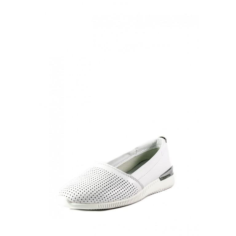 Мокасины женские Allshoes XL-1005 белые