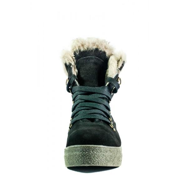 Ботинки зимние женские MIDA 24877-255Ш коричневые