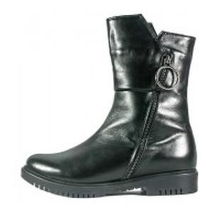 Ботинки зимние женские SND SDZ14 черная кожа