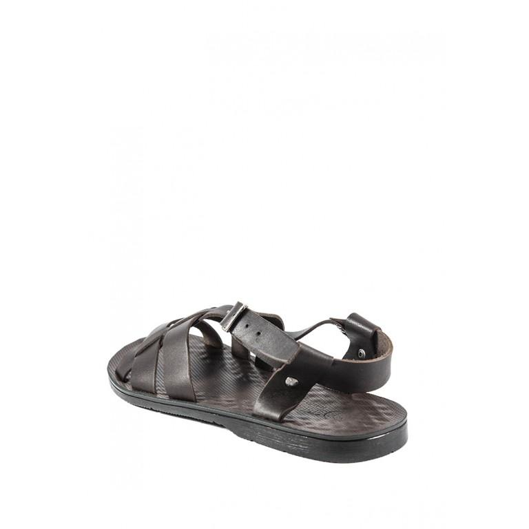 Сандалии мужские TiBet 10 темно-коричневые