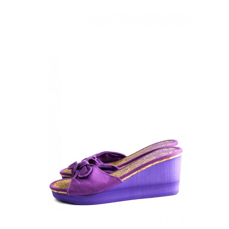 Сабо женские Bitis BWH-15904 фиолетовые