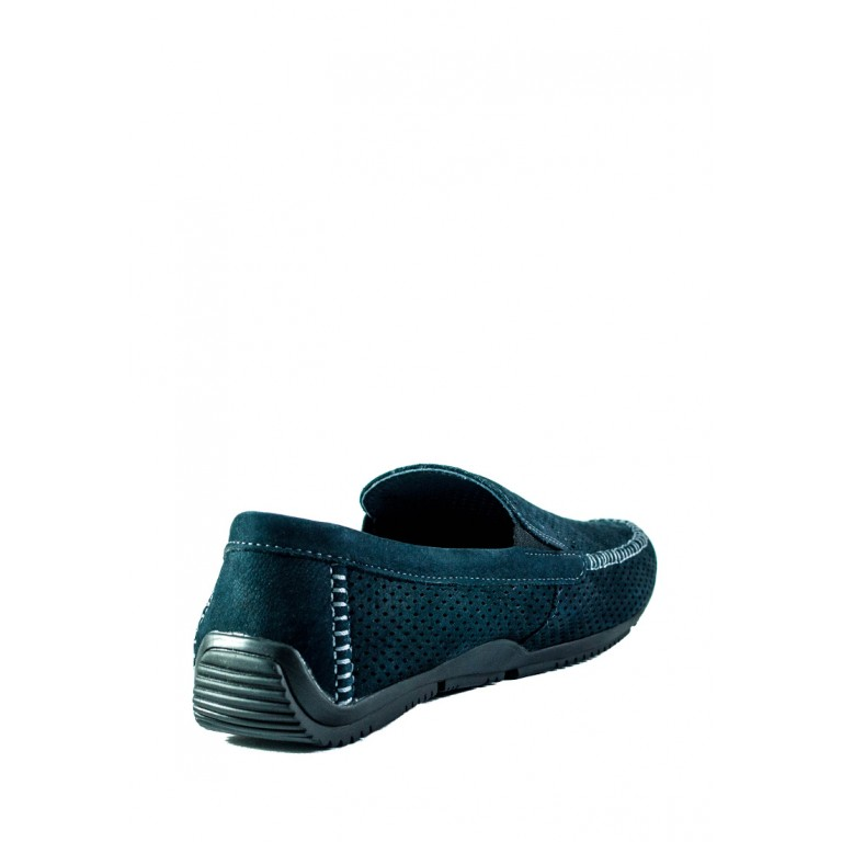 Мокасины мужские Maxus F2 пр синий нубук