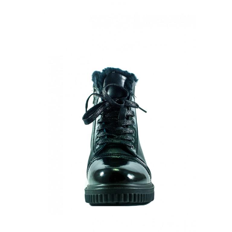 Ботинки зимние женские Lonza СФ 80360-19-1A черные