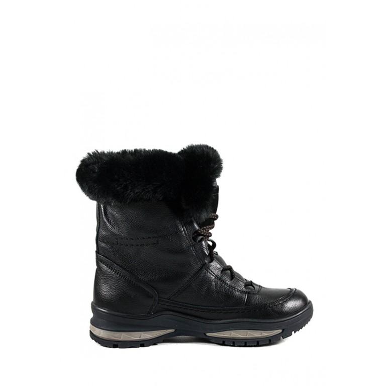 Ботинки зимние женские MIDA 24780-16Ш черные