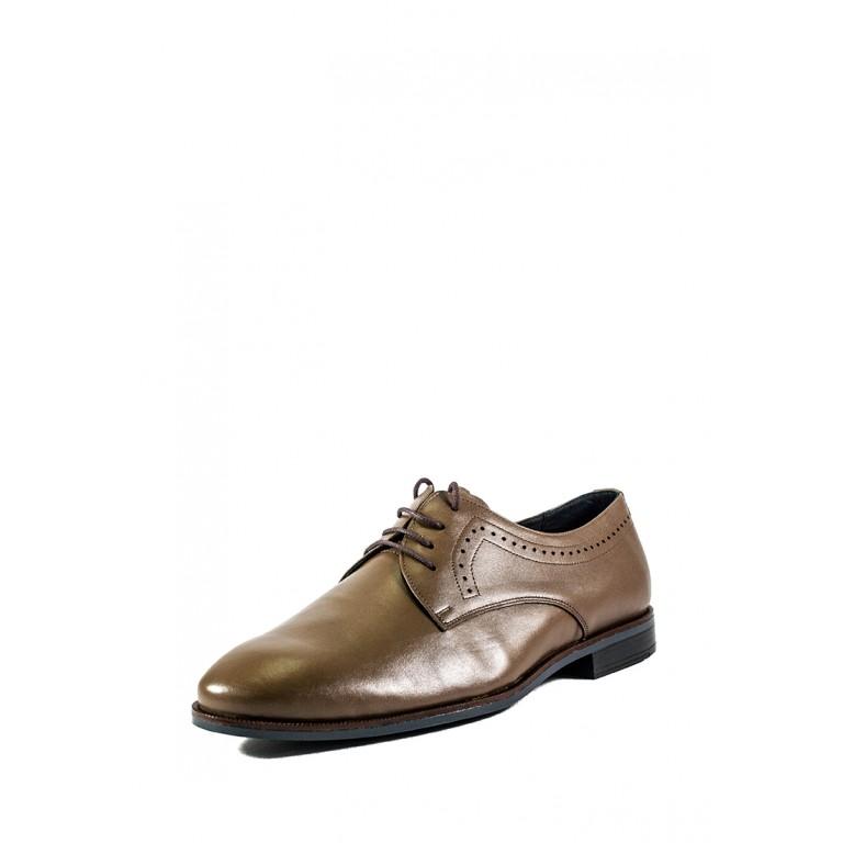 Туфли мужские MIDA 110703-567 кофе кожа