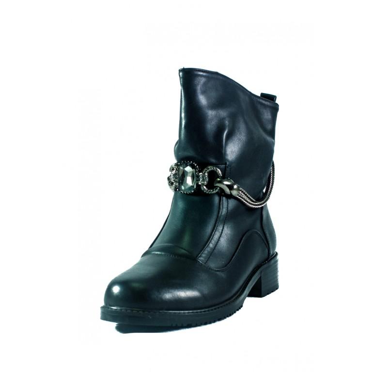 Ботинки зимние женские Fabio Monelli СФ H286M-OM43255A черные