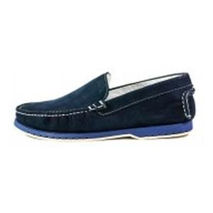 Мокасины мужские MIDA 110487-12 темно-синие