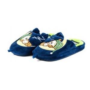 Тапочки комнатные детские Home Story 91853-AC сине-зеленые