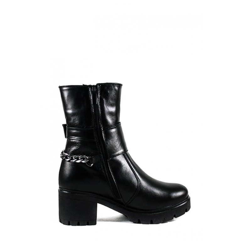Ботинки зимние женские SND SDAZ 35 черные