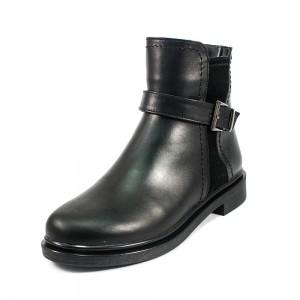 Ботинки демисез женск Julaneli Б-845 черная кожа