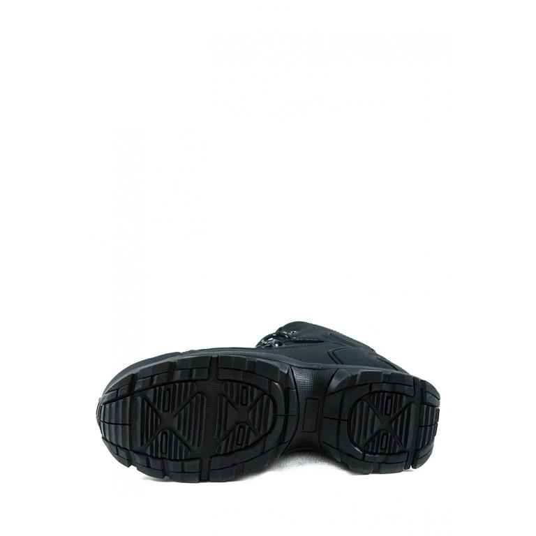 Ботинки зимние женские Restime PWZ19158 синие