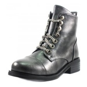 Ботинки демисезон женские Fabio Monelli W1470-703H темно-серые