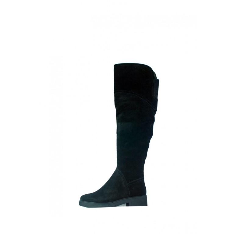 Сапоги зимние женские Lonza СФ BH1895-21R-D15A черные