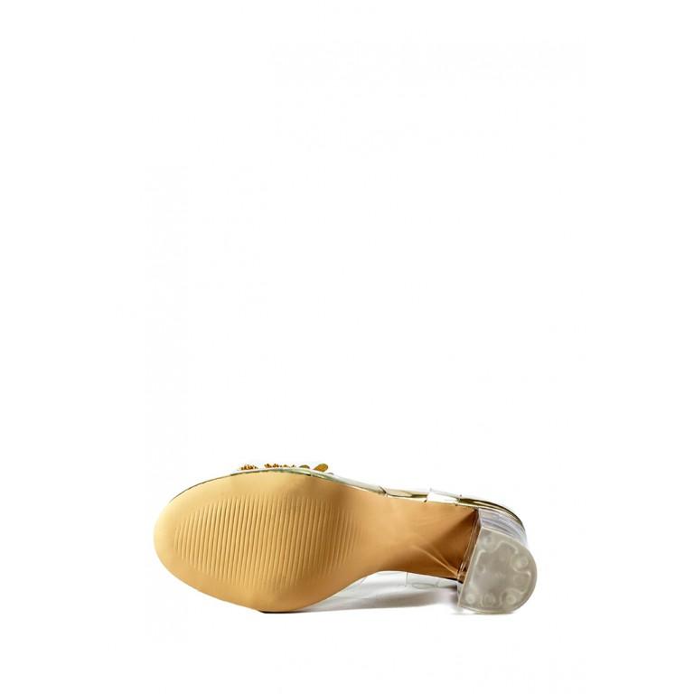 Босоножки женские Sopra СФ PM-10 золотые