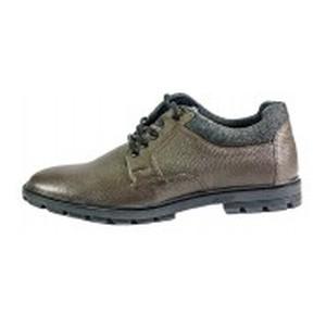 Туфли мужские MIDA 110727-562 коричневая кожа