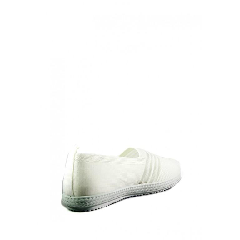 Слипоны женские Sopra 93-61 белые