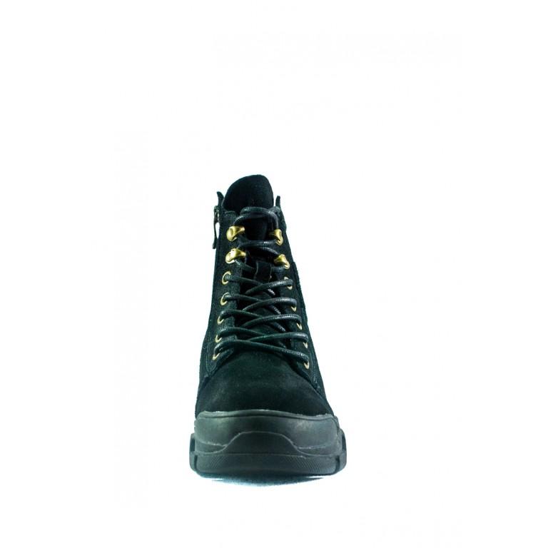 Ботинки зимние женские Lonza СФ 9001-8 черные