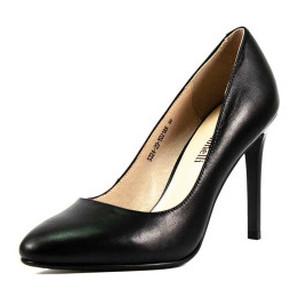Туфли женские Fabio Monelli S324-20-Y021AK черная кожа