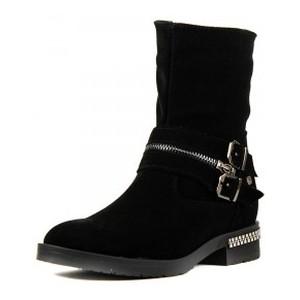 [:ru]Ботинки демисезон женские SND SD2026 черная замша[:uk]Черевики демісезон жіночі SND чорний 15936[:]