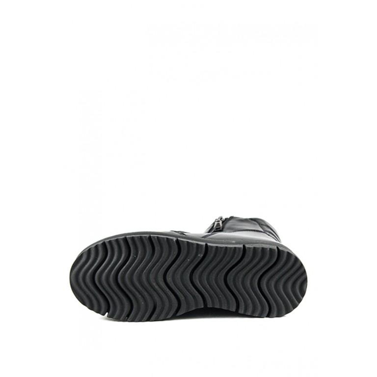 Ботинки зимние женские SND SDAZ A10 черные