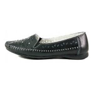 Мокасины женские Allshoes 63027 Черные