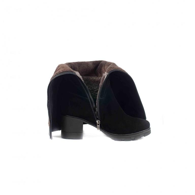 Сапоги зимние женские Anna Lucci 4M15-1FH116-302-08 черные