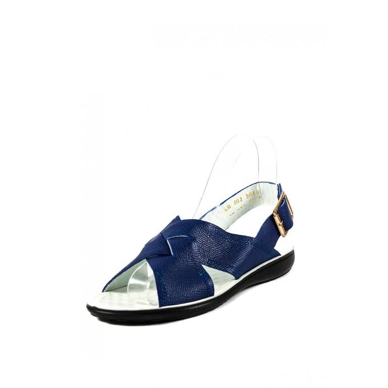 Сандалии женские TiBet 202-02-57 синие