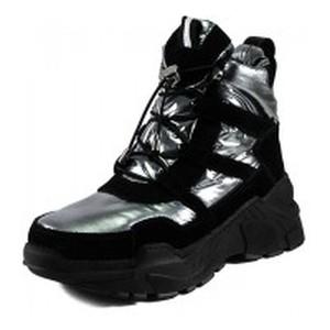 [:ru]Ботинки зимние женские Lonza 1627-S707 черно-серебряные[:uk]Черевики зимові жіночі Lonza чорний 19002[:]
