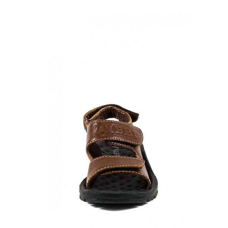Сандали подростковые TiBet 005-02-04 коричневые