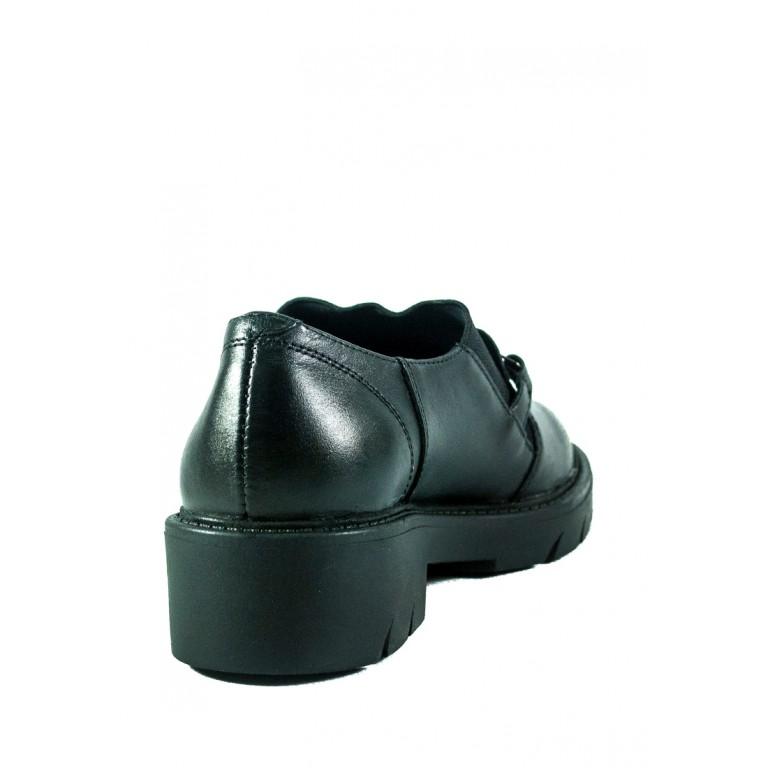 Туфли женские MIDA 210238-1 черные