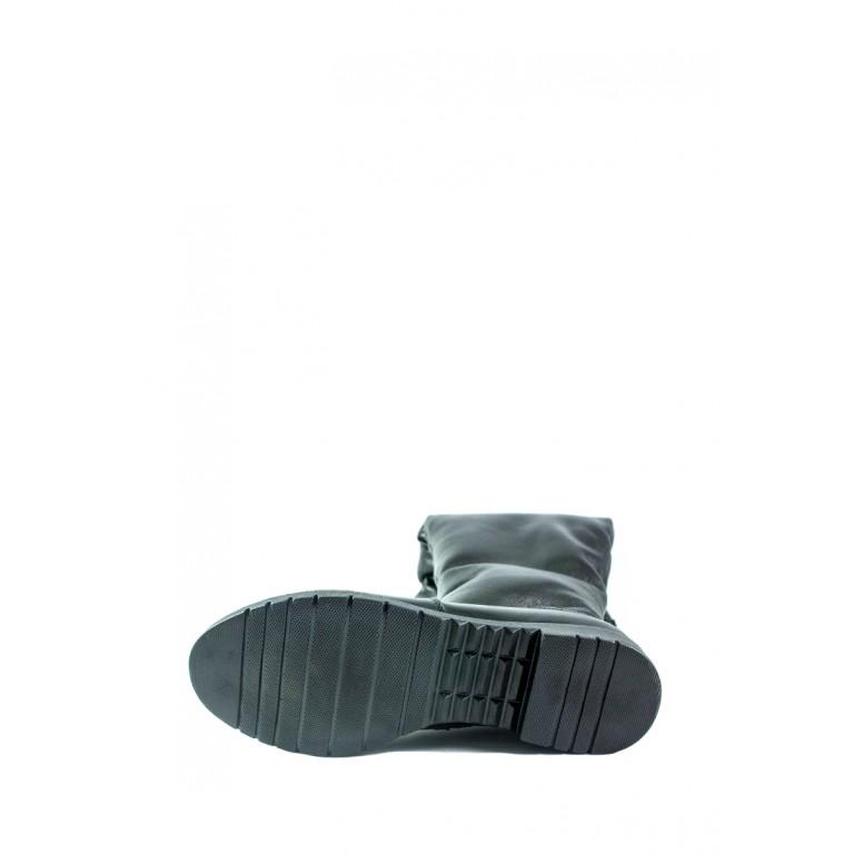 Ботфорты зимние женские ZARUI ZAR420 ЧК черные
