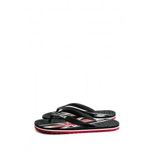 Шлепанцы подростковые Bitis 9963-А черные
