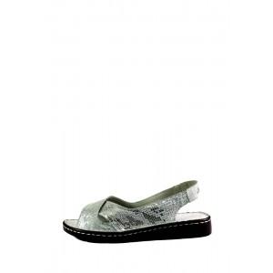 Босоножки женские Allshoes 844-3 серебро